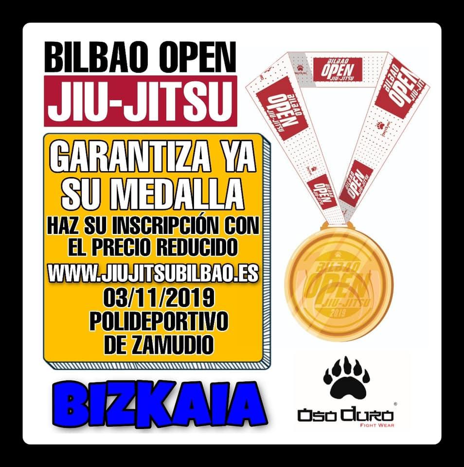 Open de Jiu Jitsu en Bilbao